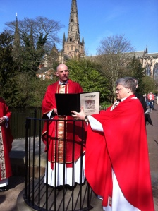 Cathedral Palm Sunday liturgy at Speakers Corner
